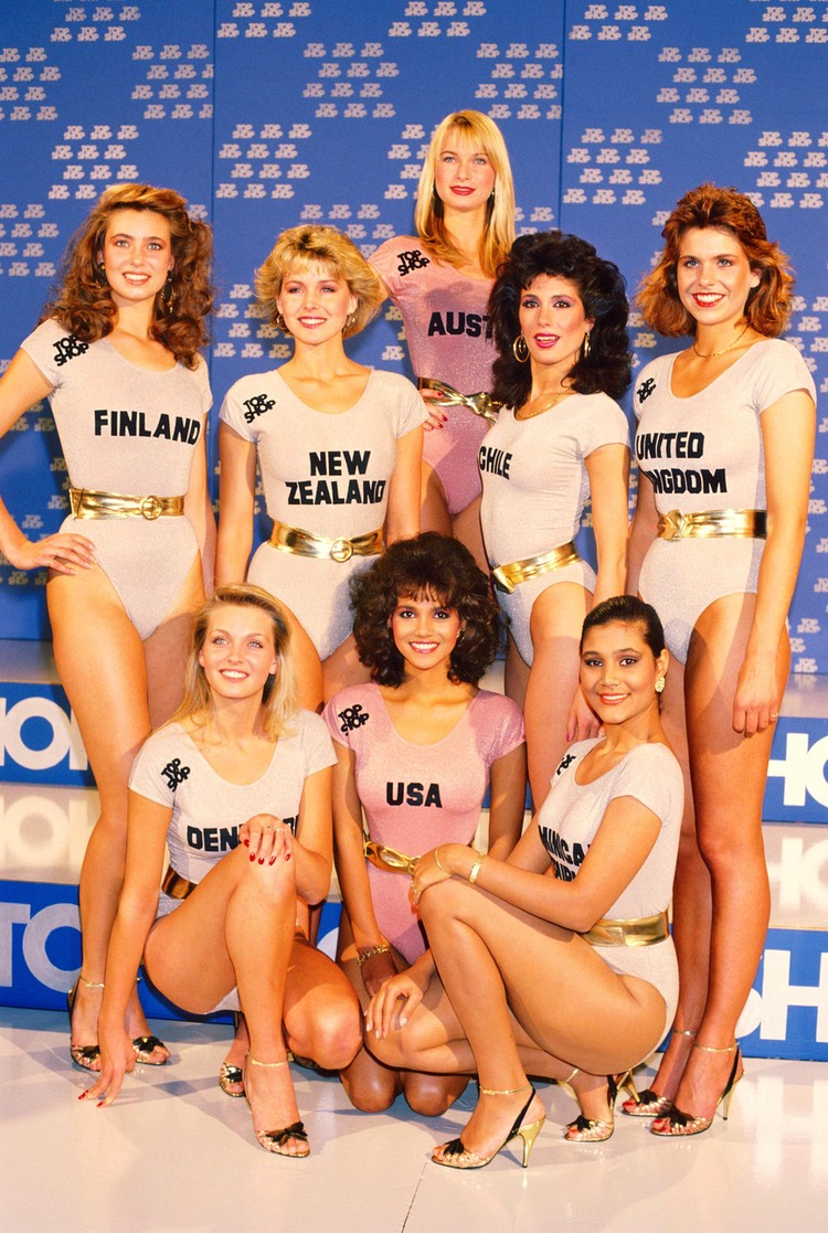MIss World contestants Nov 86